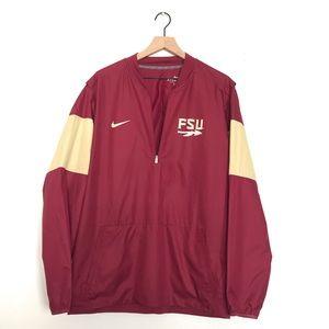 Florida State University FSU Nike jacket sz L